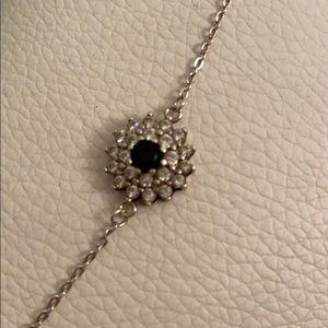 925 Silver zircon bracelet